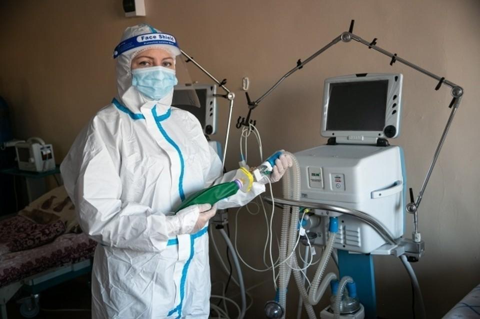 В Новосибирской области ликвидировали дефицит койка-мест в ковидных госпиталях.