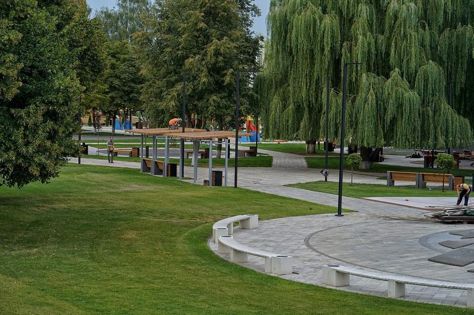В Детском парке Орла планируют установить дополнительные фонари