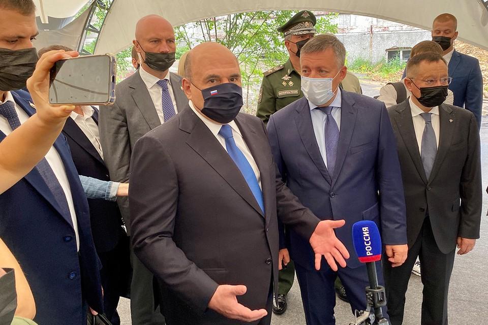 Премьер-министр Михаил Мишустин посетил Иркутск.