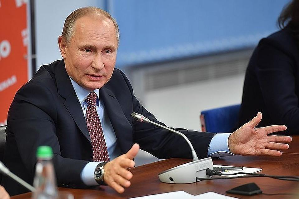 Путин поприветствовал участников соревнований по триатлону серии Ironman