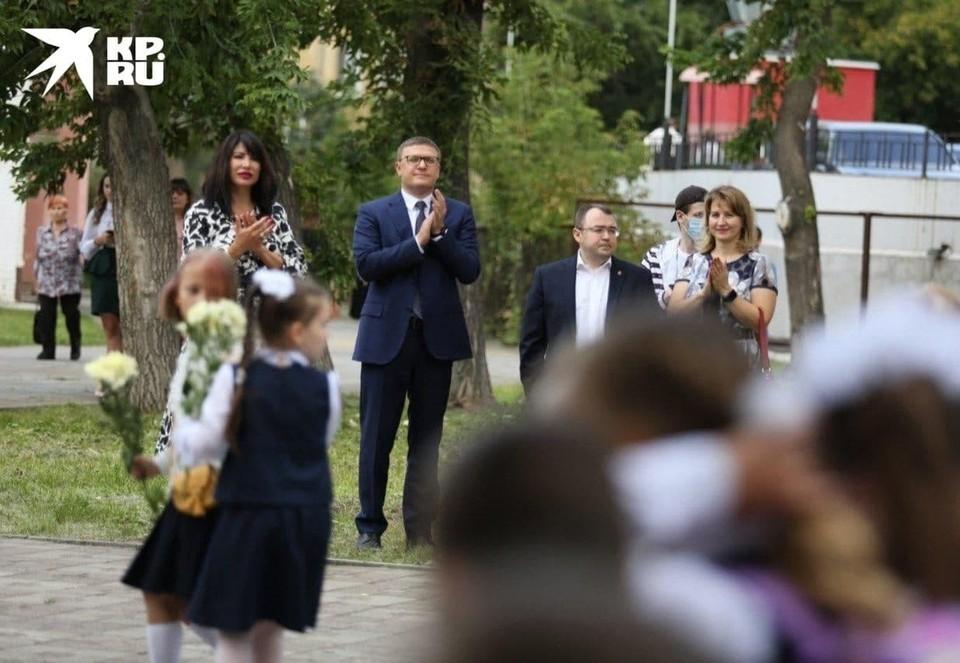 Сын губернатора учится в гимназии в Советском районе Челябинска