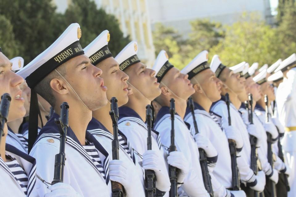 ВМФ России принял пополнение. Фото: архив «КП»-Севастополь»