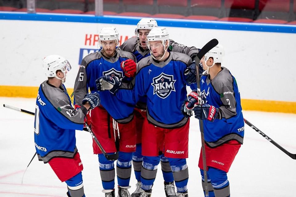 Тульская АКМ завоевала серебро на турнире клубов Высшей хоккейной лиги