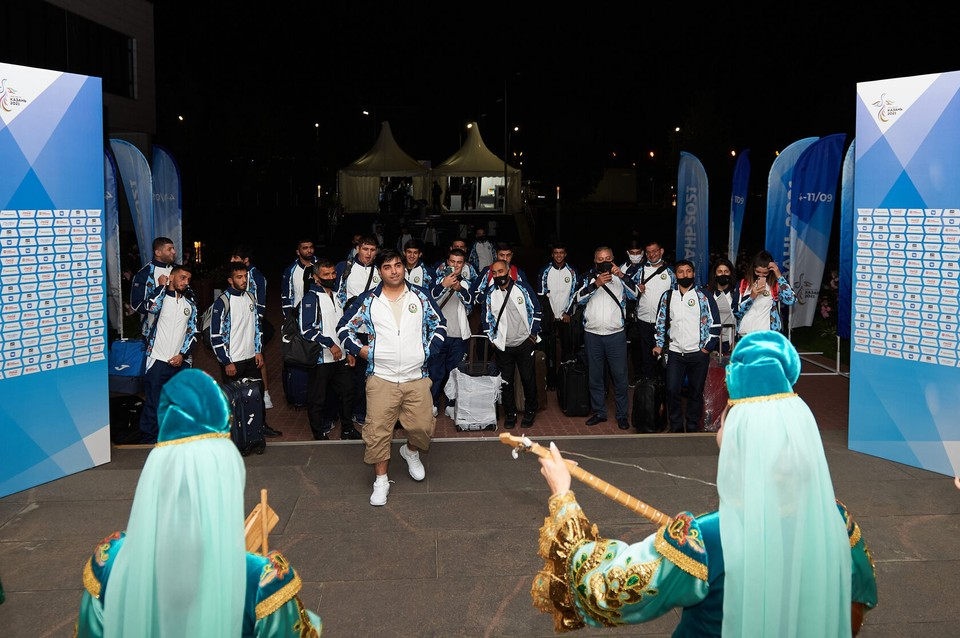 Официальная церемония открытия запланирована на 19:00. Фото: Пресс-служба Игр стран СНГ