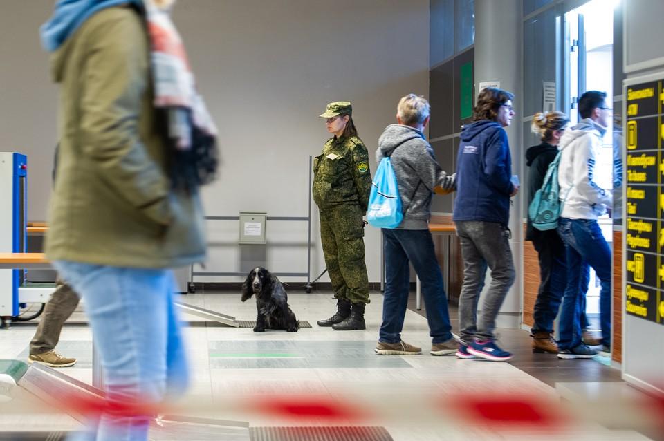 На границе с Эстонией задержали наркокурьера.