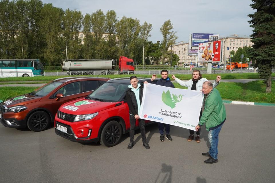 Команда «Комсомольской правды» отправилась в новый автопробег.