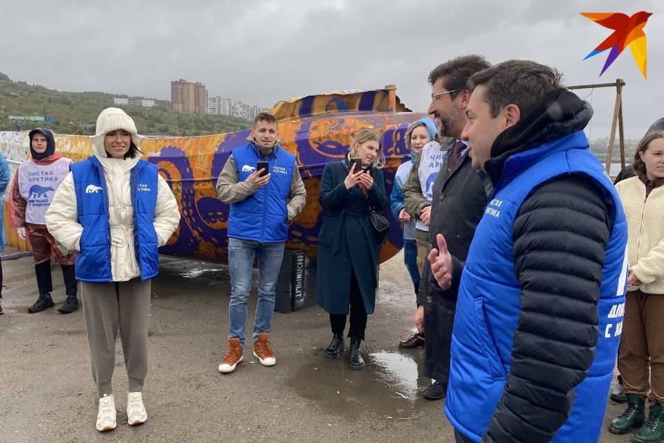 "Ирена Понарошку стала амбассадором проекта ""Чистая Арктика""."