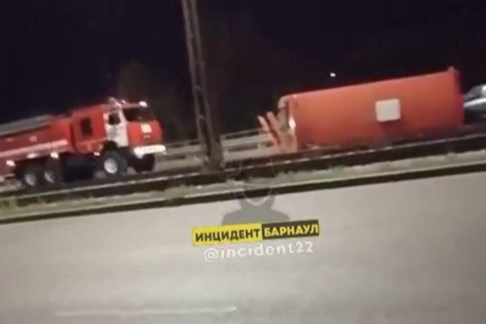 """Фото: скриншот с паблика """"Инцидент Барнаул"""""""