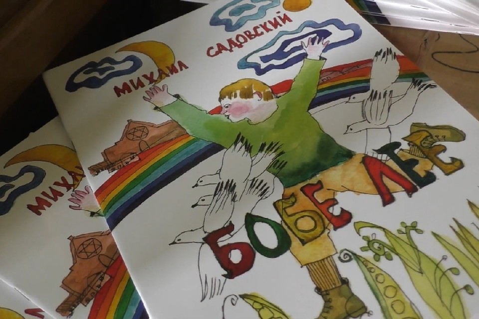 Часть книг - это детская литература авторства Михаила Садовского. Фото: официальный сайт ДНР