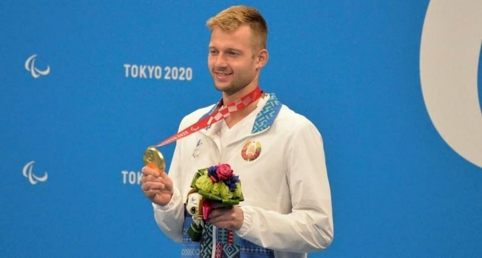 Для белорусских спортсменов соревнования в Токио являются седьмой летней Паралимпиадой. На фото Игорь Бокий - noc.by