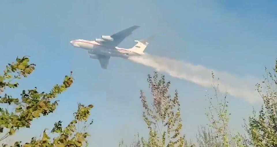 В Самарской области хотят регулярно использовать авиацию при пожарах