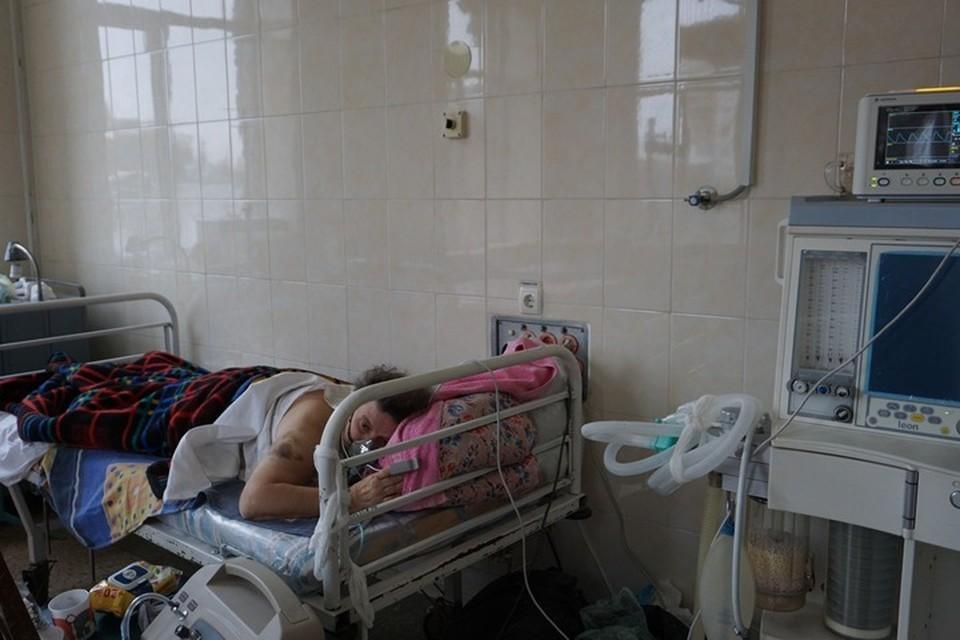 929 жителей, заболевших пневмонией, находятся на кислородной поддержке