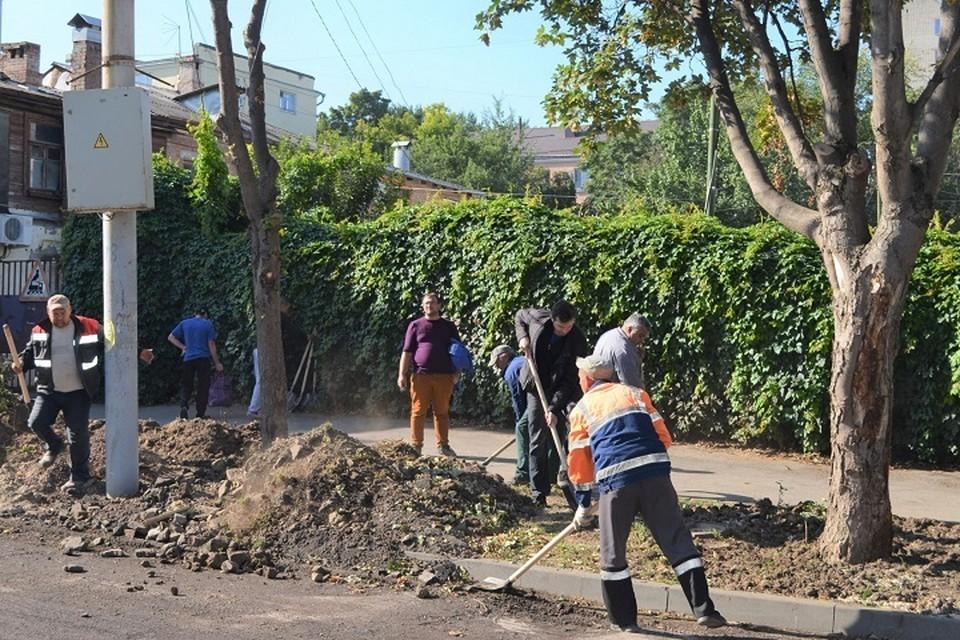 В уборке приняли участие более ста человек. Фото: сайт правительства РО