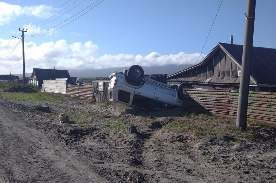 Аварии произошли ночью и ранним утром 6 сентября. Фото: Telegram-канал @iturupnews