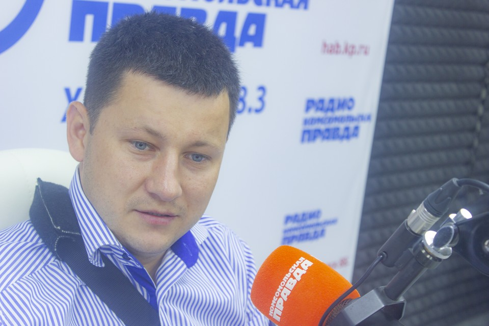 Александр Васильев, начальник управления дорог и внешнего благоустройства администрации города Хабаровска