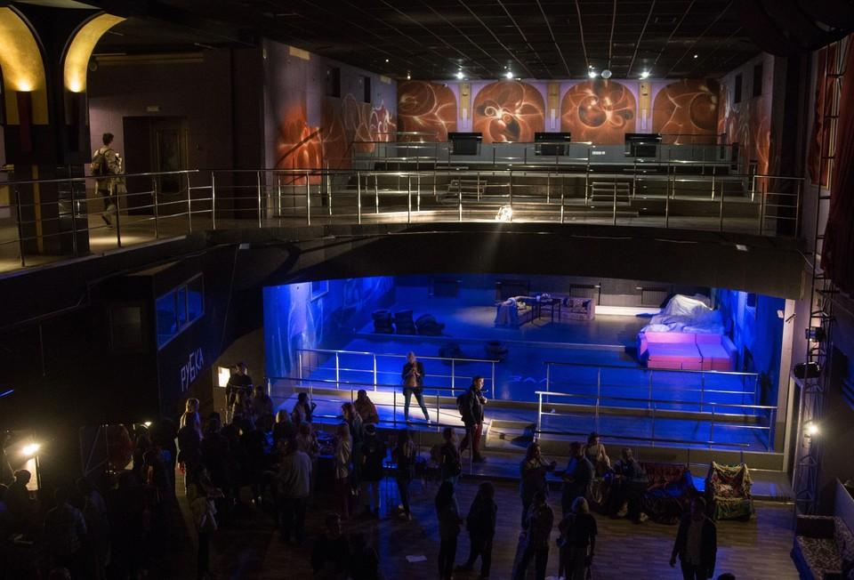 Здание «Атлантиды» станет театром. Фото: vk.com/csd_omsk