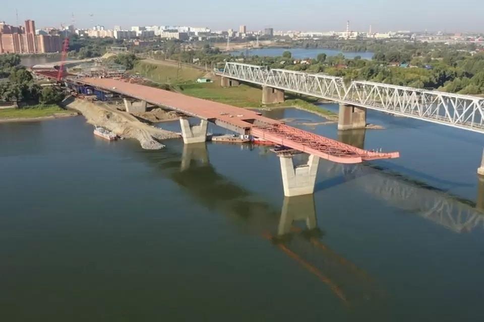 """Стала известна стоимость проезда по новому четвертому мосту в Новосибирске. Фото: ГК """"ВИС"""""""