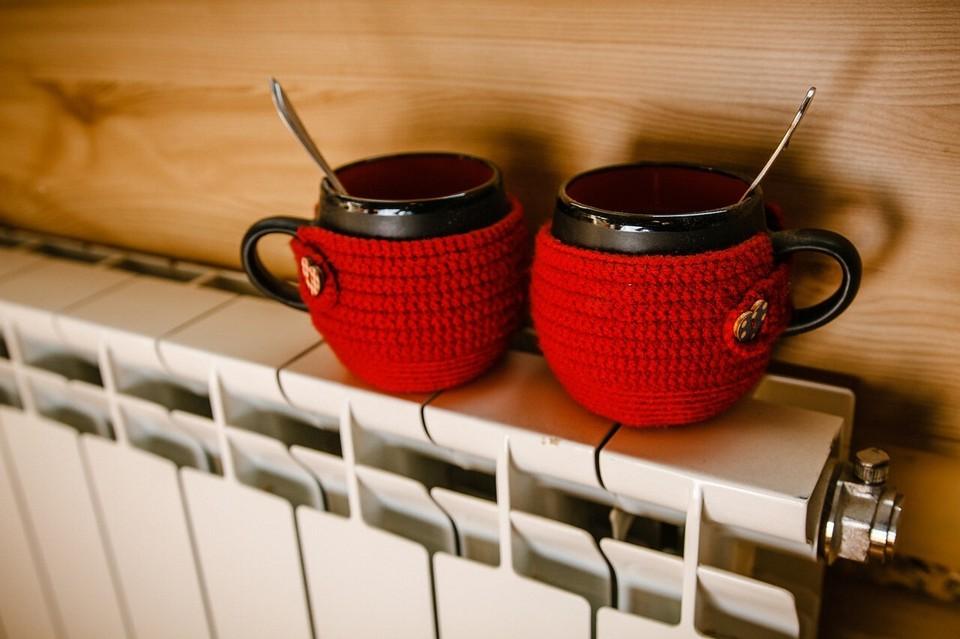 Пока не включили тепло – греемся горячим чаем