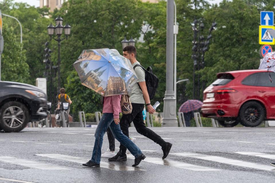 Челябинцам понадобятся зонтики