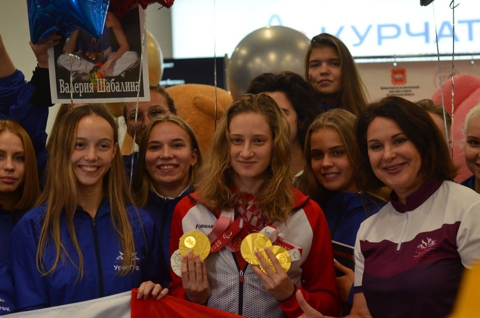 Валерия Шабалина завоевала на Паралимпиаде четыре медали.