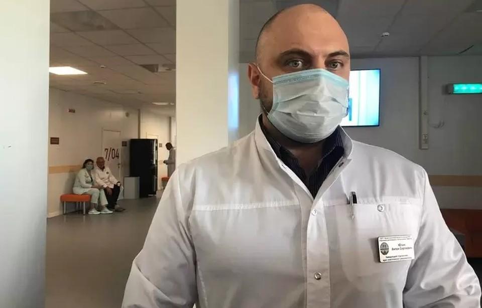 Антон Юлин рассказал, что без прививки риск умереть значительно возрастает