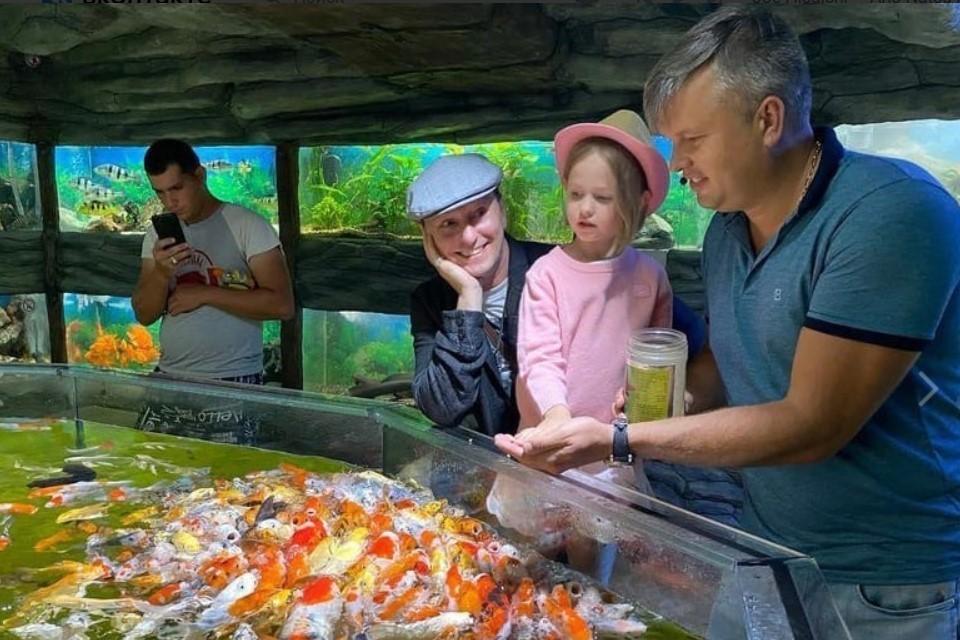Несмотря на эту неприятность, курортный город Безрукову очень понравился. Фото: Виктор Жиленко/ inst