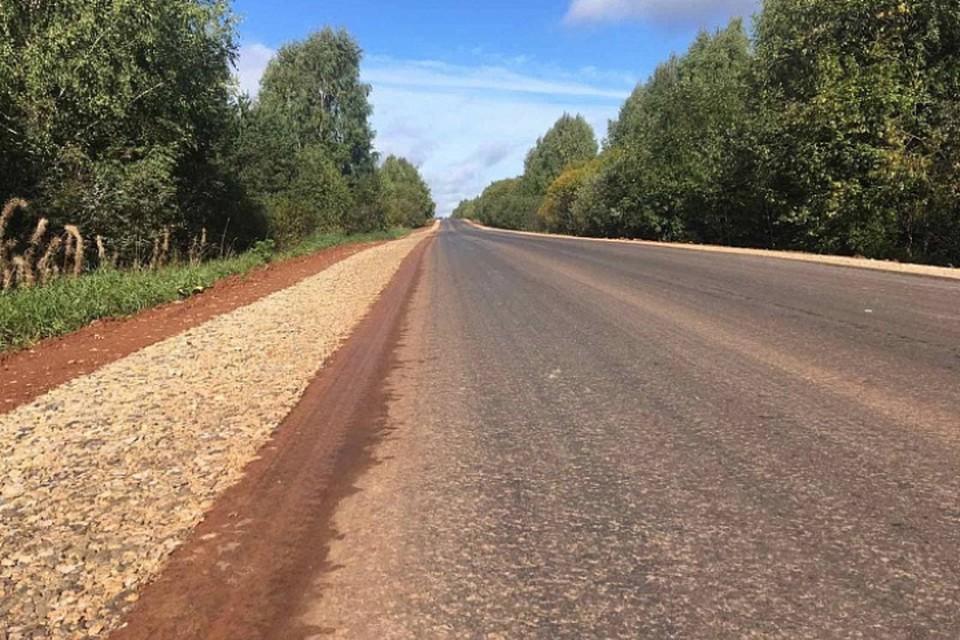 Ремонт дороги провели в августе. Фото: kirovreg.ru