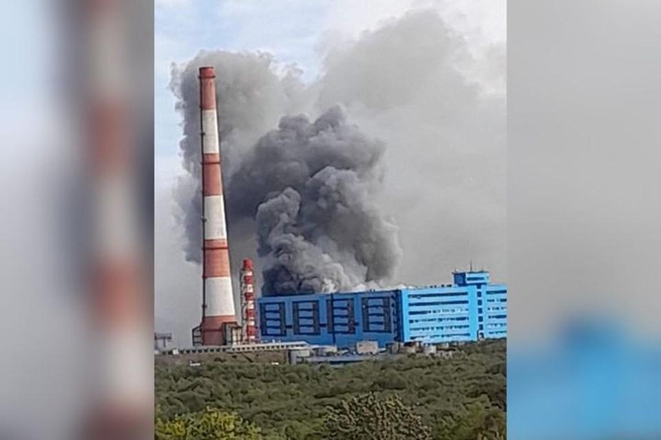 Пожар в районе ТЭЦ-2 на Камчатке. Фото: instagram.com/kamchatka_online.