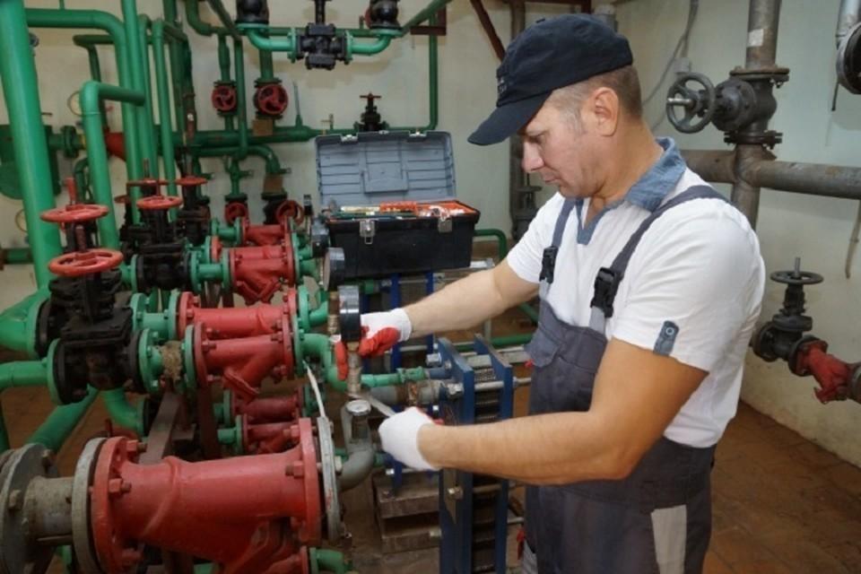 Тепло в многоквартирные дома 251 квартале Ангарска поступит согласно графику