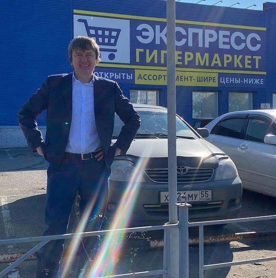Успешный омский бизнесмен Виктор Шкуренко считает, что человек от бизнеса не сможет справиться с должностью мэра. Фото: Instagram Виктора Шкуренко