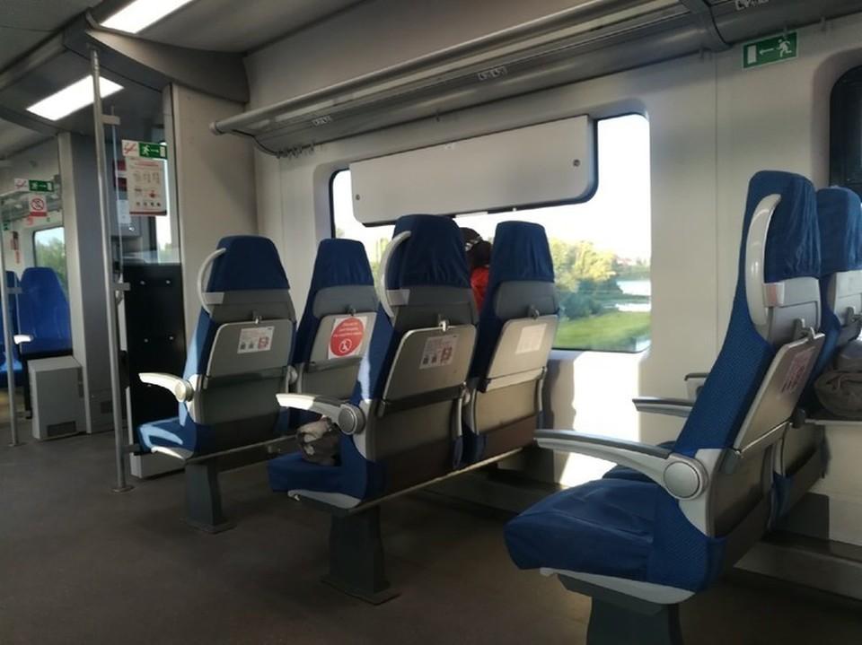 Пассажиры довольны, что поезд чистый и комфортный