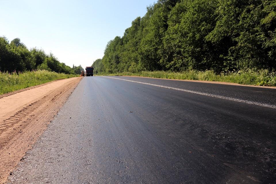 В регионе продолжают обновлять дороги.