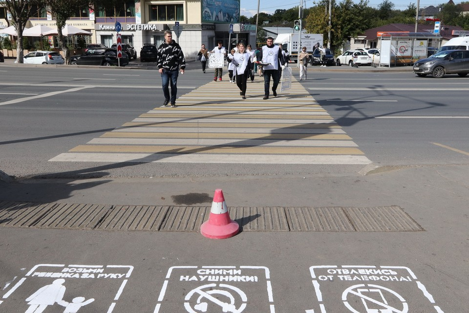 Новые символы напоминают о несложных правилах перехода улицы
