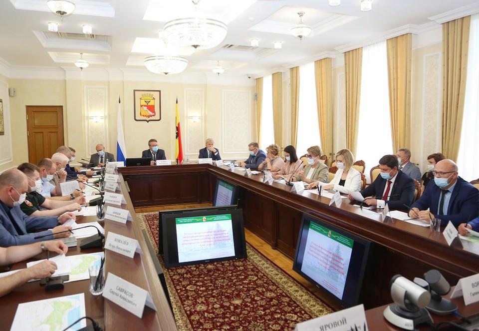 На заседании антитеррористической комиссии отметили, что во время празднования Дня города нужно усилить меры безопасности.