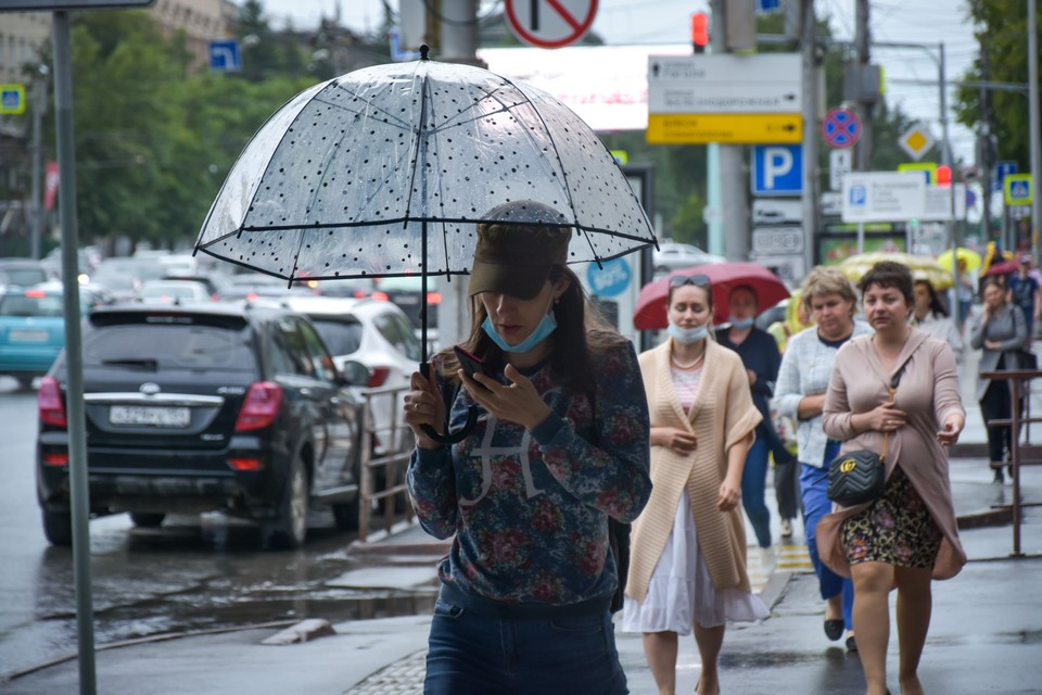 На выходных в город придет облачность, похолодание и дожди.