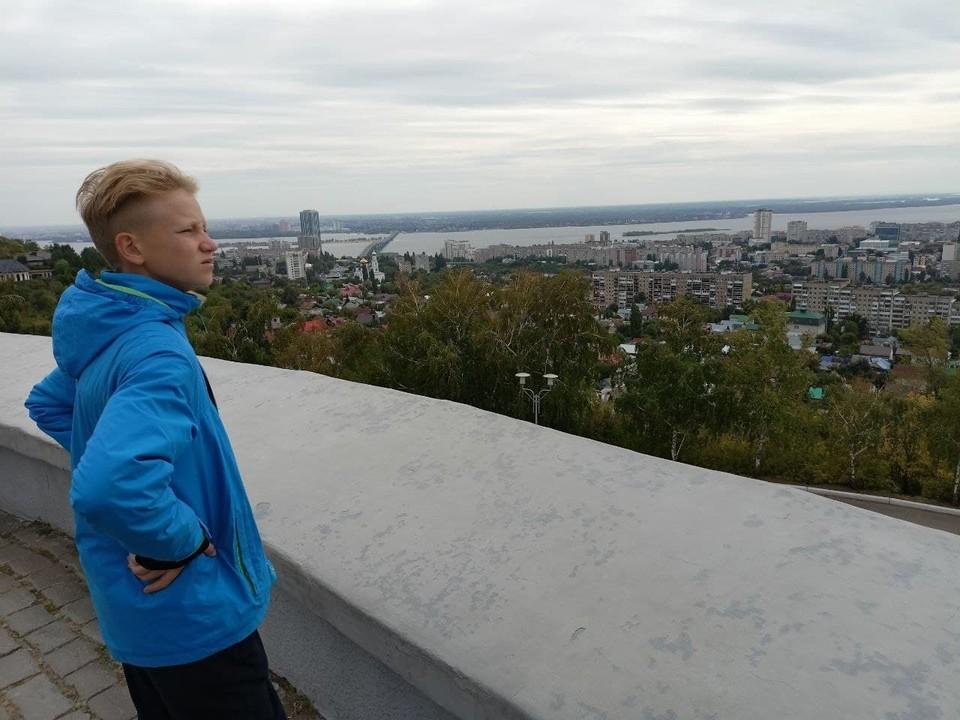Соколовая гора - самая высокая точка Саратова.