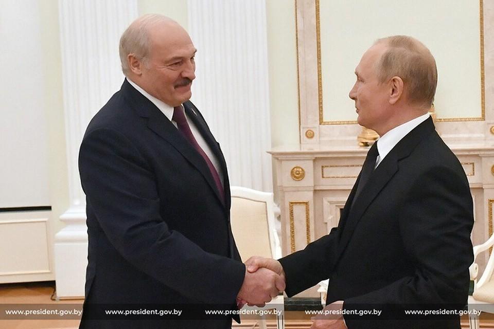 Переговоры Лукашенко и Путина продлились 7 часов. Фото: president.gov.by