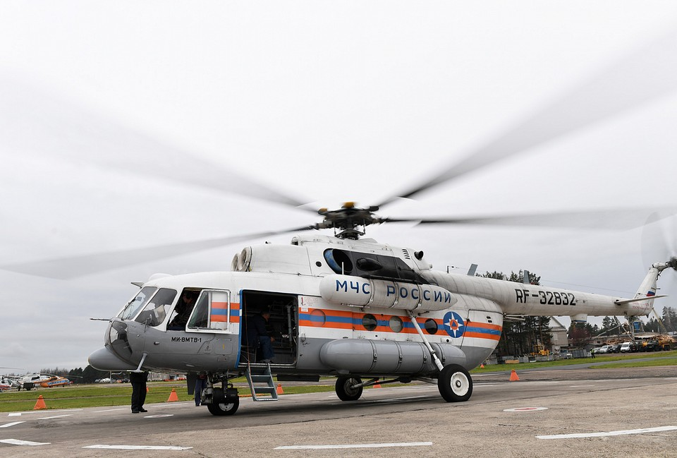 Вертолет санавиации вылетал в Бологовский район