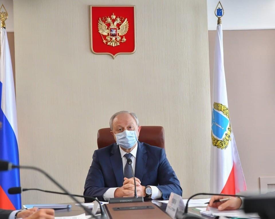 Валерий Радаев анонсировал создание новых областных программ