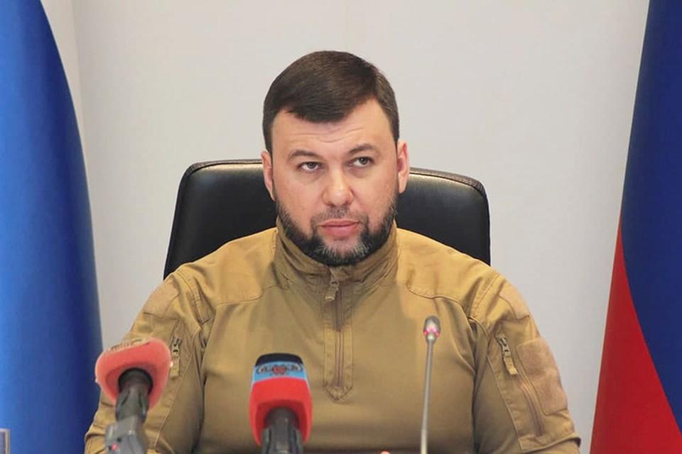 Денис Пушилин держит на личном контроле проводимые руководителями министерств и ведомств тренировки. Фото: АГ ДНР