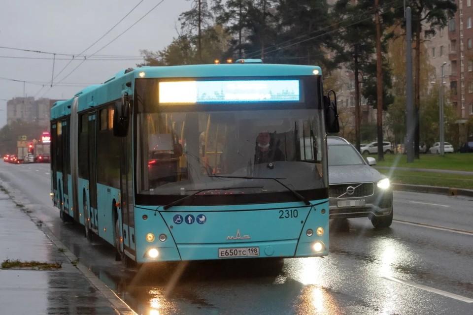 В Петербурге станет больше автобусов на загруженных маршрутах.