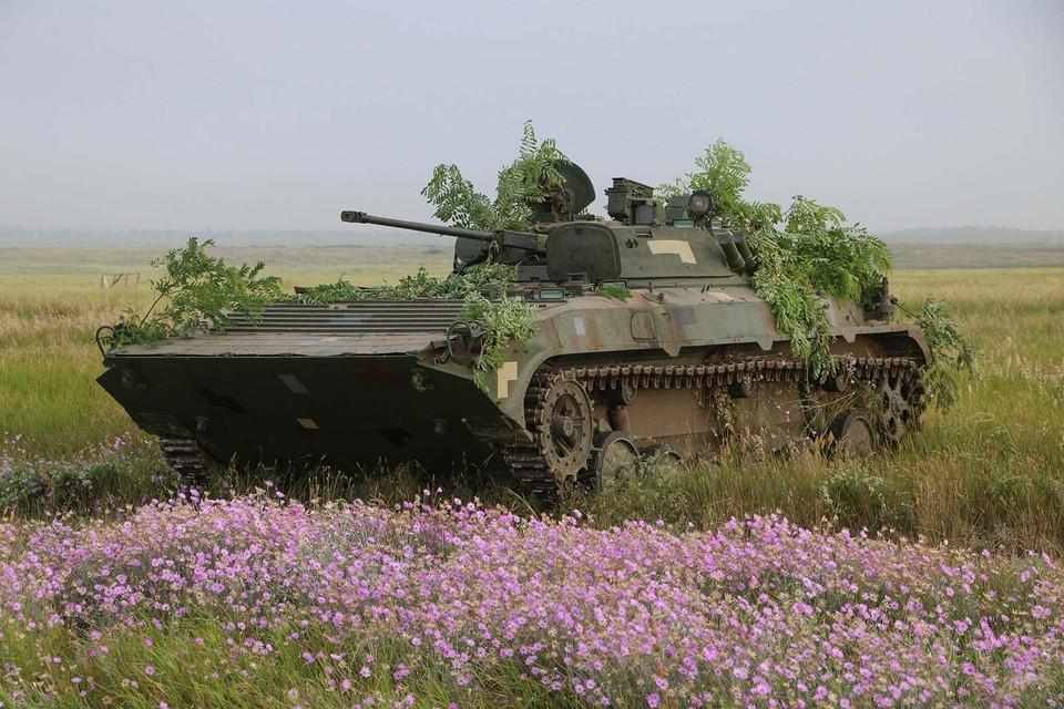 Украинское вооружение обнаружено вблизи жилого района. Фото: штаб ООС