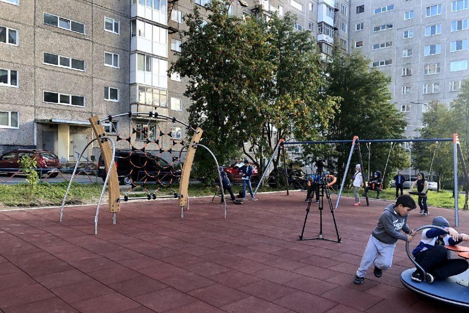 На площадке установили видеонаблюдение. Фото: администрация Мурманска