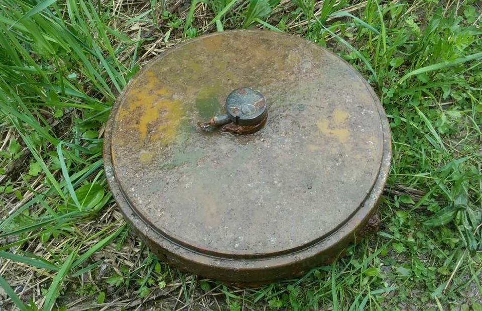 Мина пролежала в земле почти 80 лет.