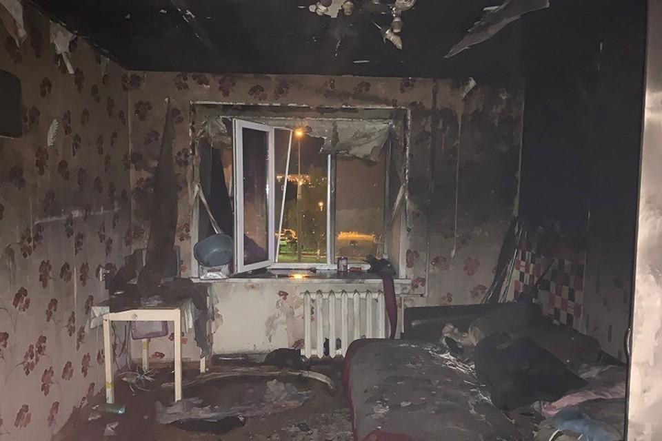 Утверждается, что площадь пожара составила три квадратных метра.