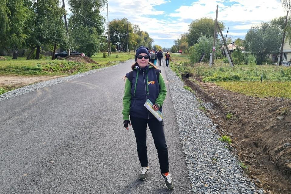 Ирина шла в обычных кроссовках. Фото: предоставлено героем публикации