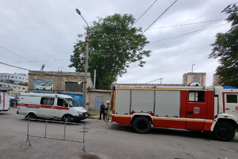 На место выезжали спасатели и медики. Фото: vk.com/etorostovnadonu.