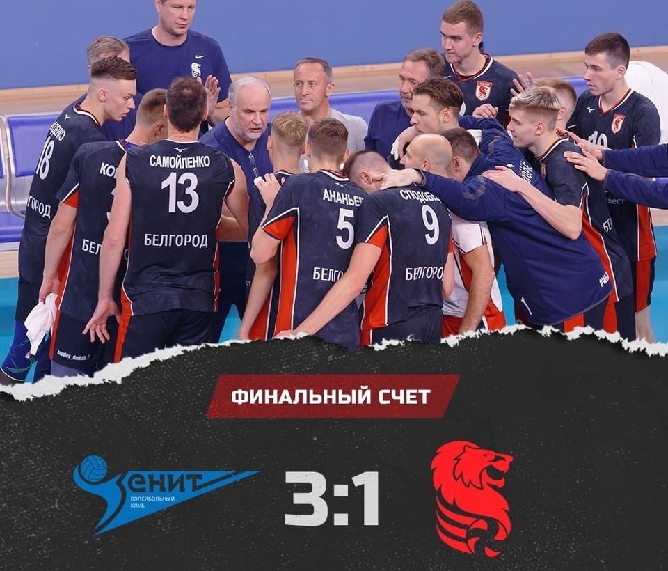 Самым результативным в составе белгородцев стал Егор Сиденко, набравший 17 очков. Фото belogorievolley.ru.