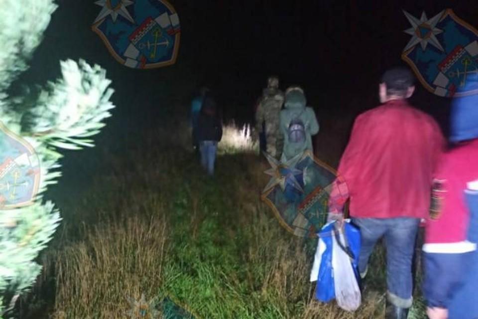 Спасатели Ленобласти за выходные вывели из леса пять грибников / Фото: Аварийно-спасательная служба ЛО
