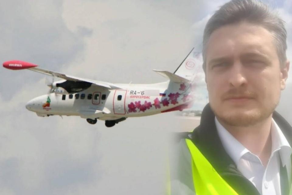 Николай Махнутин был командиром разбившегося самолета. Фото: сайт авиакомпании, страница в соцсети